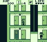 Elevator Action Game Boy Your enemy
