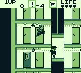 Elevator Action Game Boy Jumping