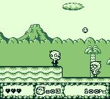 Bonk's Adventure Game Boy One of your first enemies