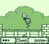 Bonk's Adventure Game Boy Look out for evil plants
