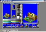 SimCity 2000 Urban Renewal Kit Windows 3.x Editing a building