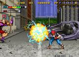 "Mutation Nation Neo Geo Using Special Attack ""B"""