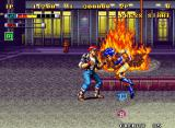 Mutation Nation Neo Geo Fighting on the street