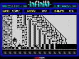 Phantomas Saga: Infinity ZX Spectrum Game over