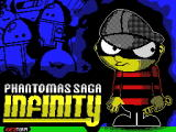 Phantomas Saga: Infinity ZX Spectrum Loading screen