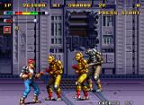 Mutation Nation Neo Geo Attack of the Gold Robots