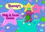Barney's Hide & Seek Game Genesis Title screen