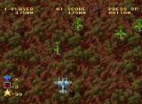 Ghost Pilots Neo Geo Flying over forests