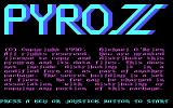 Pyro II DOS Title Screen