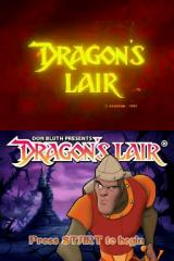 Dragon's Lair Nintendo DS Title screen