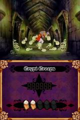 Dragon's Lair Nintendo DS Crypt creeps