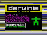 Darwinia Windows Spectrum intro screen