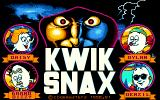 Kwik Snax Amiga Title screen