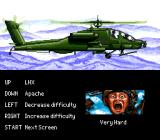 LHX: Attack Chopper Genesis Difficulty/helicopter choose