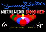 Jimmy White's 'Whirlwind' Snooker Genesis Title screen