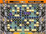 Neo Bomberman Arcade The third area