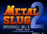Metal Slug 2: Super Vehicle - 001/II Neo Geo Title