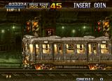 Metal Slug 2: Super Vehicle - 001/II Neo Geo Marco will get squashed if he doesn't move out of the way