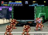 Robo Army Neo Geo Three against one? Not fair!