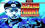 Second Front: Germany Turns East DOS Title screen