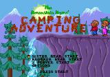 The Berenstain Bears' Camping Adventure Genesis Title screen