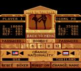 Best of the Best Championship Karate Genesis Options