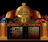 Best of the Best Championship Karate Genesis Looking at the players' points