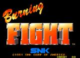 Burning Fight Neo Geo Title