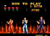 Burning Fight Neo Geo How to Play