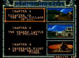 Crossed Swords Neo Geo Chapter Selection