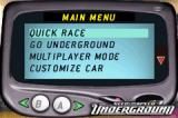 Need for Speed: Underground Game Boy Advance In this screen, you can choose your play mode.