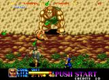Ninja Commando Neo Geo Now that's a big caveman