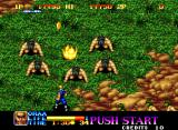 Ninja Commando Neo Geo I have no idea why the cavemen are worshipping me