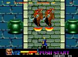 Ninja Commando Neo Geo Those knights are no match for my fireballs