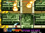 Ninja Commando Neo Geo Tanks Galore