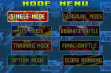 Street Fighter Alpha 3 Game Boy Advance Choose one of many game modes and fight until tiring!