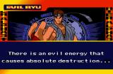 Street Fighter Alpha 3 Game Boy Advance This screen shows some informations about your fighter.
