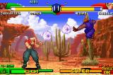 Street Fighter Alpha 3 Game Boy Advance Shin Akuma can throw 2 simultaneous fireballs. Take advantage of this!