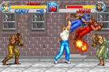 Final Fight Game Boy Advance Defeat many enemies with an only punch: this is the Final Fight essence!