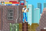 Final Fight Game Boy Advance Jumping in barrels is the only way of appreciate Metro City's beauty.