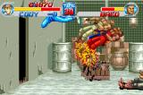 Final Fight Game Boy Advance Use the special move to hit many enemies at the same time.