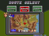 Shock Troopers Arcade Pick a route, any route