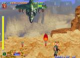 Shock Troopers Arcade Your first big enemy