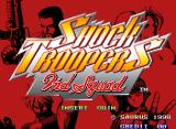 Shock Troopers: 2nd Squad Neo Geo Title