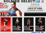 Shock Troopers: 2nd Squad Neo Geo Character Selection