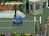 Shock Troopers: 2nd Squad Neo Geo Inside some vehicle