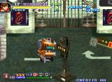 Shock Troopers: 2nd Squad Neo Geo Lulu is inside that robot