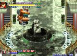 Shock Troopers: 2nd Squad Neo Geo That statue is pouring out tar instead of water