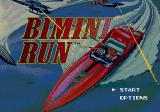 Bimini Run Genesis Title screen