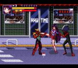 Bishōjo Senshi Sailor Moon SNES Fighting in front of a shop